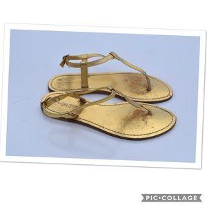 J. Crew Tabitha T strap sandals